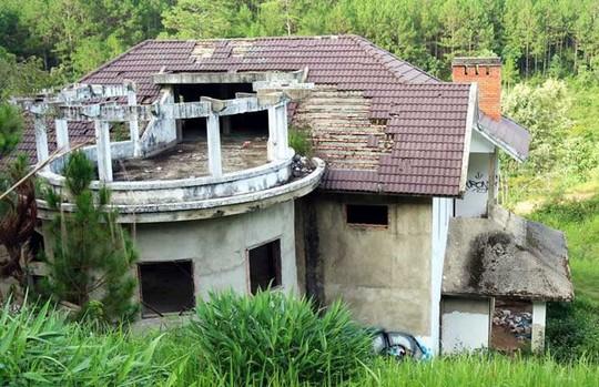 Hàng chục biệt thự nghỉ dưỡng bị bỏ hoang trên đồi thông Đà Lạt - Ảnh 3.