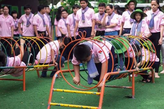 Trại hè Học kỳ hồng dành cho con công nhân - Ảnh 1.