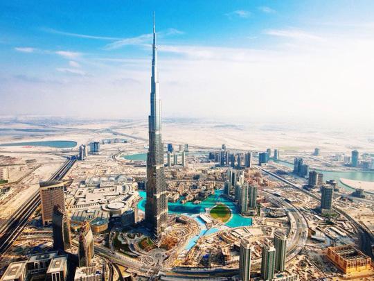 Ngắm kiến trúc 5 tòa nhà chọc trời cao nhất thế giới - Ảnh 2.