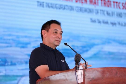 Tập đoàn TTC và GULF (Thái Lan) khánh thành Nhà máy Điện mặt trời TTC số 01 và TTC số 02 tại Tây Ninh - ảnh 3