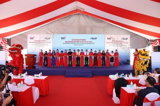 Tập đoàn TTC và GULF (Thái Lan) khánh thành Nhà máy Điện mặt trời TTC số 01 và TTC số 02 tại Tây Ninh - ảnh 5