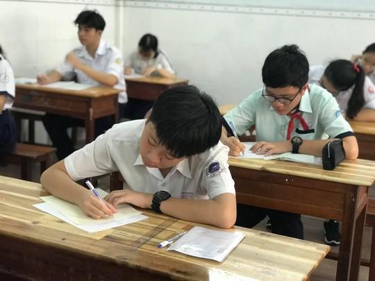 Chiều mai (12-6): TP HCM công bố điểm thi lớp 10 - ảnh 1