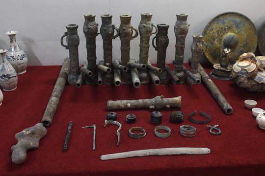 Ngắm kho cổ vật ngàn năm tuổi từ 9 con tàu đắm - Ảnh 9.