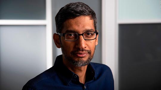 CEO Google lớn lên không có máy tính - Ảnh 1.