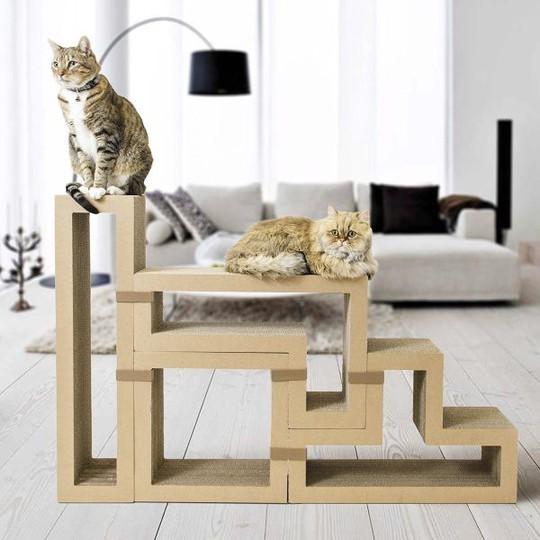 Ngôi nhà sành điệu dành cho những chú mèo - Ảnh 2.