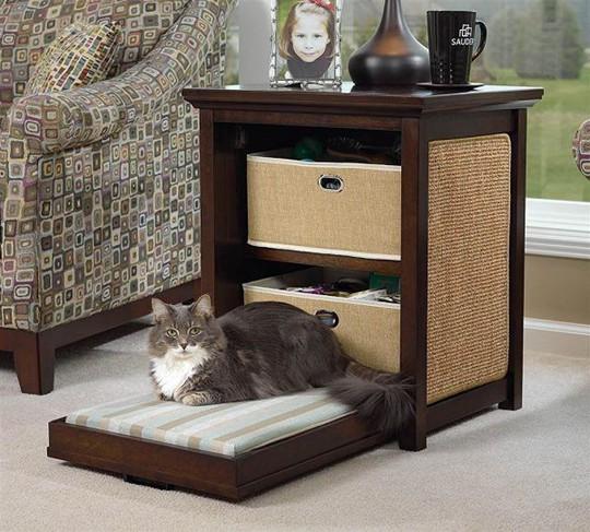 Ngôi nhà sành điệu dành cho những chú mèo - Ảnh 9.