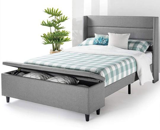Những mẫu giường ngủ ngắm mãi không chán - Ảnh 11.