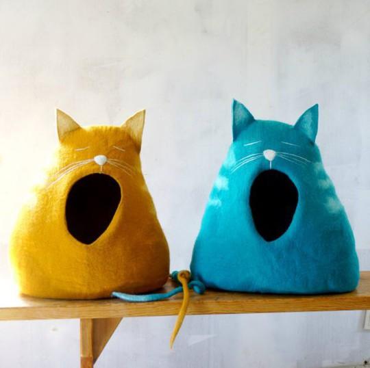 Ngôi nhà sành điệu dành cho những chú mèo - Ảnh 14.