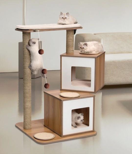 Ngôi nhà sành điệu dành cho những chú mèo - Ảnh 3.