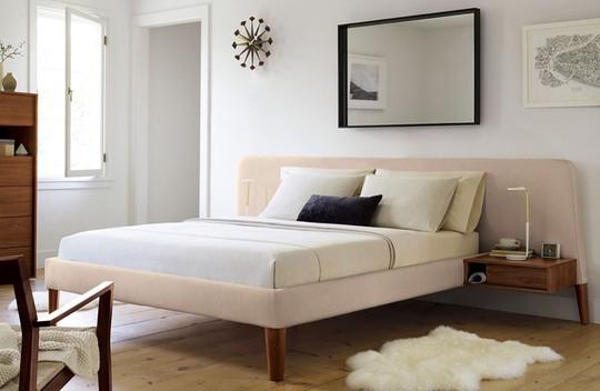 Những mẫu giường ngủ ngắm mãi không chán - Ảnh 4.