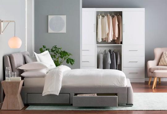 Những mẫu giường ngủ ngắm mãi không chán - Ảnh 6.