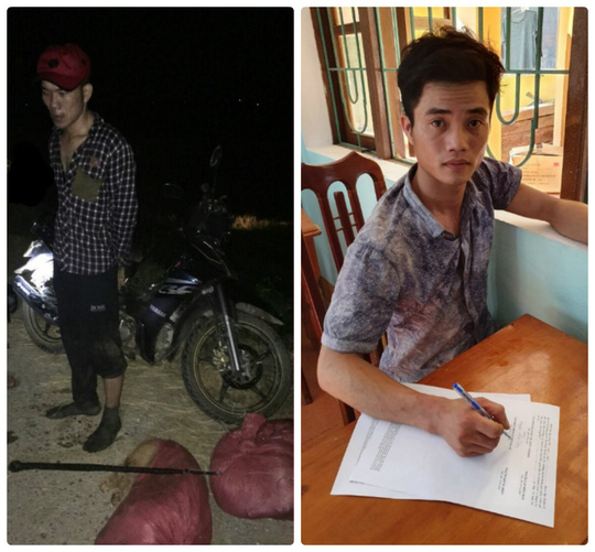 Quang Binh Bat gon 2 cau tac chuyen trom cho giua dem khuya