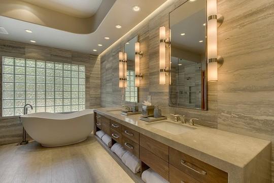 Chỉ nhờ mẹo thiết kế này mà phòng tắm luôn khiến người dùng thoải mái - Ảnh 11.