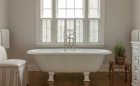 Chỉ nhờ mẹo thiết kế này mà phòng tắm luôn khiến người dùng thoải mái - Ảnh 13.