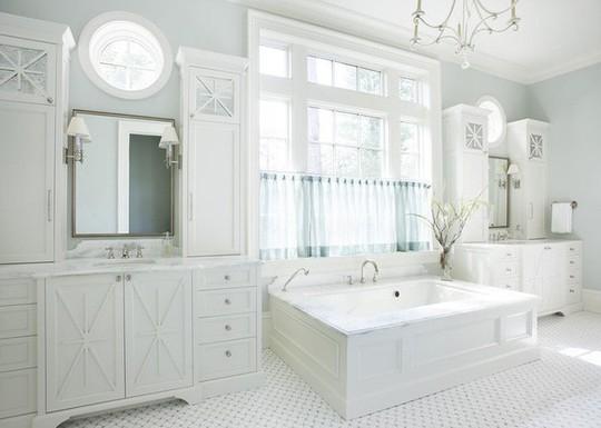 Chỉ nhờ mẹo thiết kế này mà phòng tắm luôn khiến người dùng thoải mái - Ảnh 20.