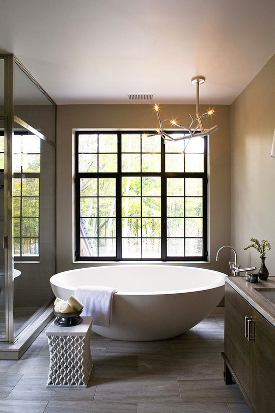 Chỉ nhờ mẹo thiết kế này mà phòng tắm luôn khiến người dùng thoải mái - Ảnh 10.