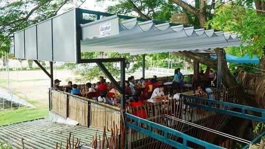 Quán cà phê cho khách ngồi trên cây ở Cần Thơ - Ảnh 5.