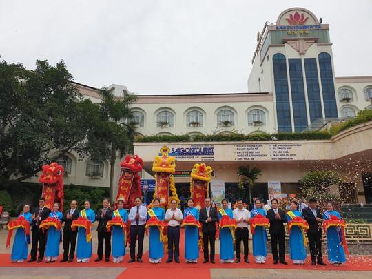 Khai trương chi nhánh Lữ hành Saigontourist tại Nghệ An - Ảnh 1.