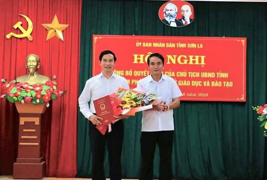 Trước kỳ thi THPT, Sơn La điều 1 Bí thư huyện làm sếp phụ trách Sở GD-ĐT - ảnh 1