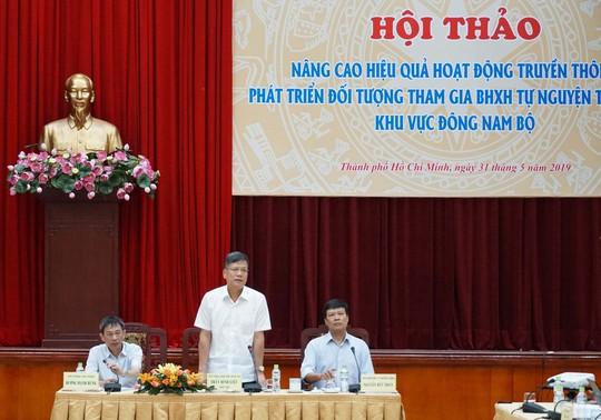 Tham gia BHXH tự nguyện được nhà nước hỗ trợ - Ảnh 1.