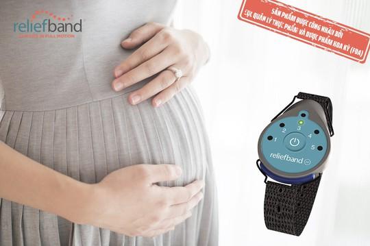 Giải pháp chống ốm nghén Reliefband của mẹ bầu Mỹ - Ảnh 3.