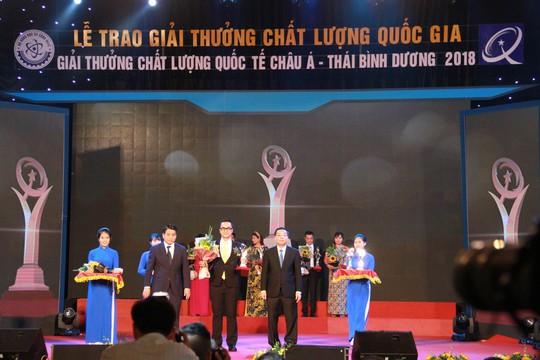 C.P. Việt Nam đạt hai giải thưởng chất lượng quốc gia năm 2018 - Ảnh 2.