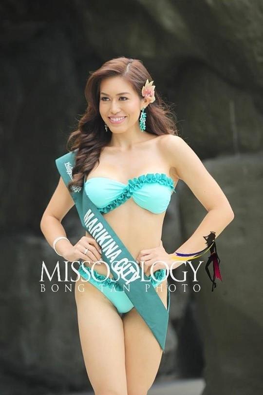 Nhan sắc gây thất vọng của dàn thí sinh Hoa hậu Trái Đất Philippines - Ảnh 6.