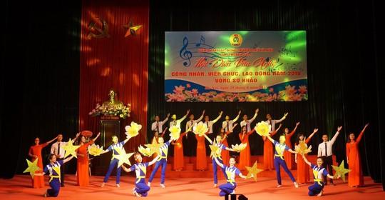 Hà Nội: Tưng bừng Hội diễn văn nghệ CNVC-LĐ - Ảnh 1.