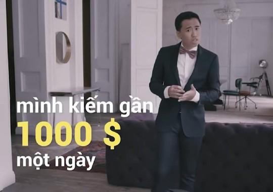 Trò lừa đảo kiếm 1.000 USD/ngày trên YouTube Việt Nam - Ảnh 1.