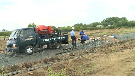 Tự ý san ủi 1,5ha đất nông nghiệp để phân lô - Ảnh 1.