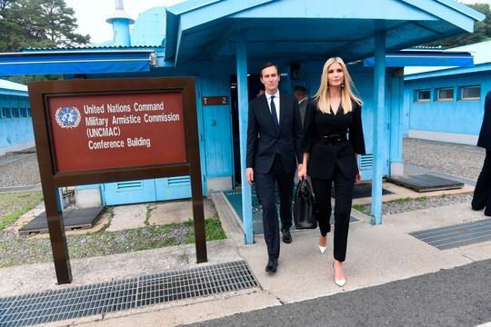 Toàn cảnh chuyến thăm của ông Trump tới DMZ - Ảnh 16.