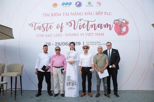 """Cuộc thi """"Taste Of Vietnam: Tôm Bạc Liêu – Hương vị Việt Nam"""" tại FLC Hạ Long - Ảnh 1."""
