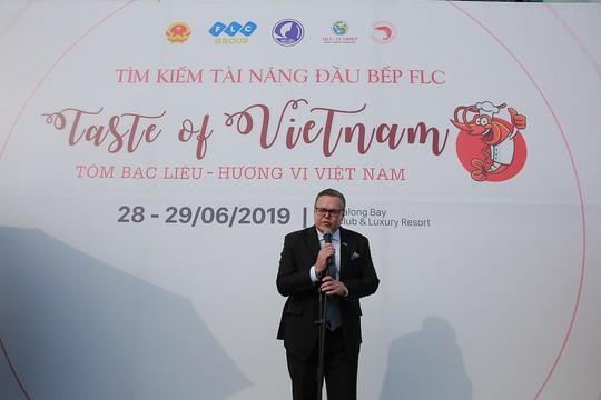 """Cuộc thi """"Taste Of Vietnam: Tôm Bạc Liêu – Hương vị Việt Nam"""" tại FLC Hạ Long - Ảnh 2."""