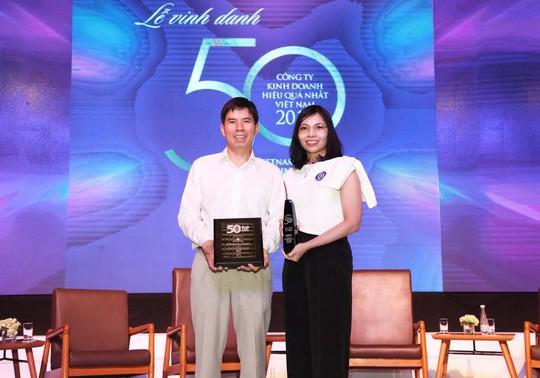 """Thế Giới Di Động lần 3 dẫn đầu Top """"50 công ty kinh doanh hiệu quả nhất Việt Nam"""" - Ảnh 1."""
