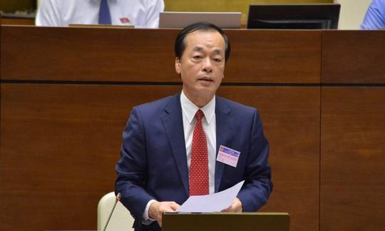 Bộ trưởng Bộ Xây dựng Phạm Hồng Hà lần đầu tiên trả lời chất vấn Quốc hội - Ảnh 1.