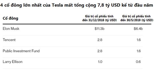 """Chưa đầy nửa năm, tài sản của Elon Musk đã """"bốc hơi"""" 4,9 tỉ USD - Ảnh 2."""