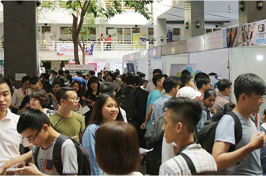 Ngày hội Việc làm tại Đại học Duy Tân: Hàng ngàn cơ hội việc làm đang chờ ứng viên - Ảnh 2.