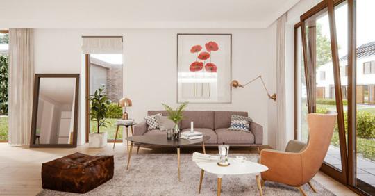 Phòng khách mang phong cách thập niên 50 - Ảnh 1.