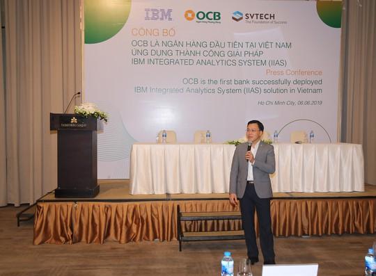 OCB – triển khai thành công hệ thống phân tích tích hợp IBM – IBM InTegrated - Ảnh 1.