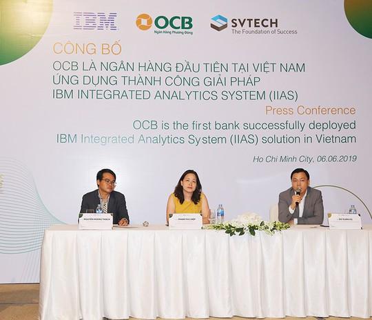 OCB – triển khai thành công hệ thống phân tích tích hợp IBM – IBM InTegrated - Ảnh 2.