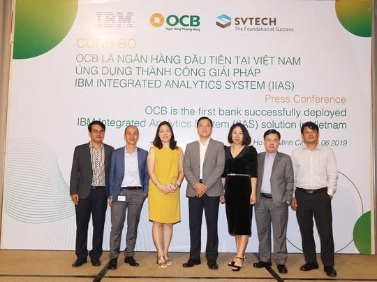 OCB – triển khai thành công hệ thống phân tích tích hợp IBM – IBM InTegrated - Ảnh 3.