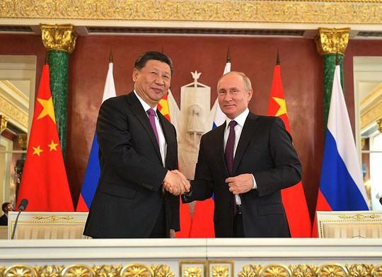 Nga - Trung nâng tầm quan hệ - Ảnh 1.