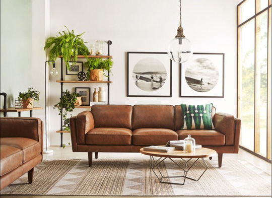 Phòng khách mang phong cách thập niên 50 - Ảnh 2.