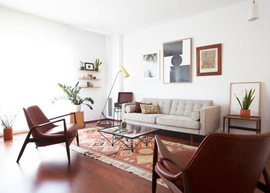 Phòng khách mang phong cách thập niên 50 - Ảnh 3.