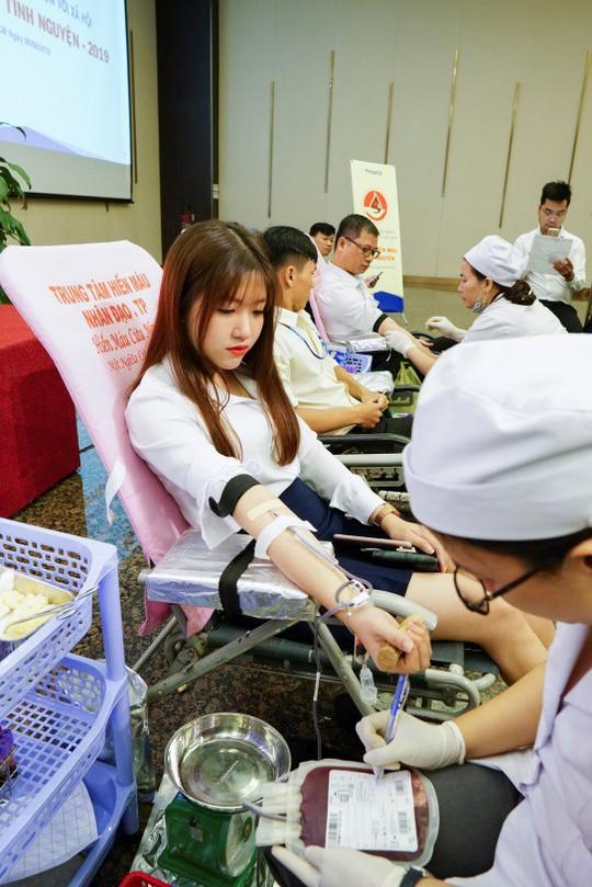 Hàng ngàn nhân viên Thaco hiến máu nhân đạo - Ảnh 2.
