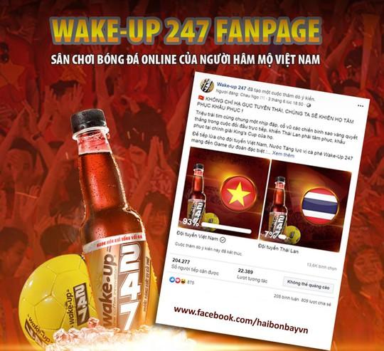 Wake-up 247 fanpage - sân chơi bóng đá online của người hâm mộ Việt Nam - Ảnh 1.