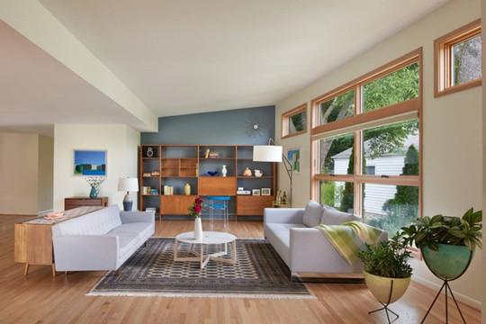Phòng khách mang phong cách thập niên 50 - Ảnh 4.