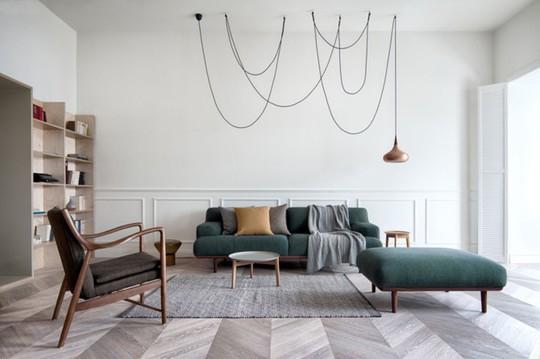 Phòng khách mang phong cách thập niên 50 - Ảnh 6.