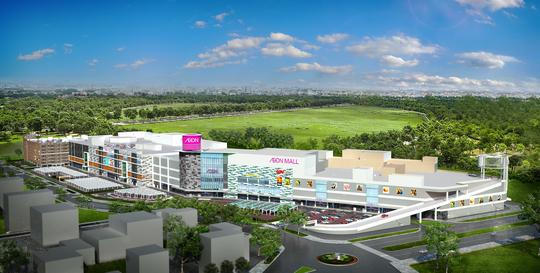 AEON – Tân Phú mở rộng gấp đôi, tăng bãi ôtô lên gấp 4 lần - Ảnh 1.