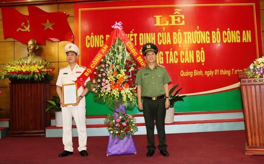 Phó Chánh thanh tra Bộ Công an được bổ nhiệm làm Giám đốc Công an tỉnh Quảng Bình - ảnh 1
